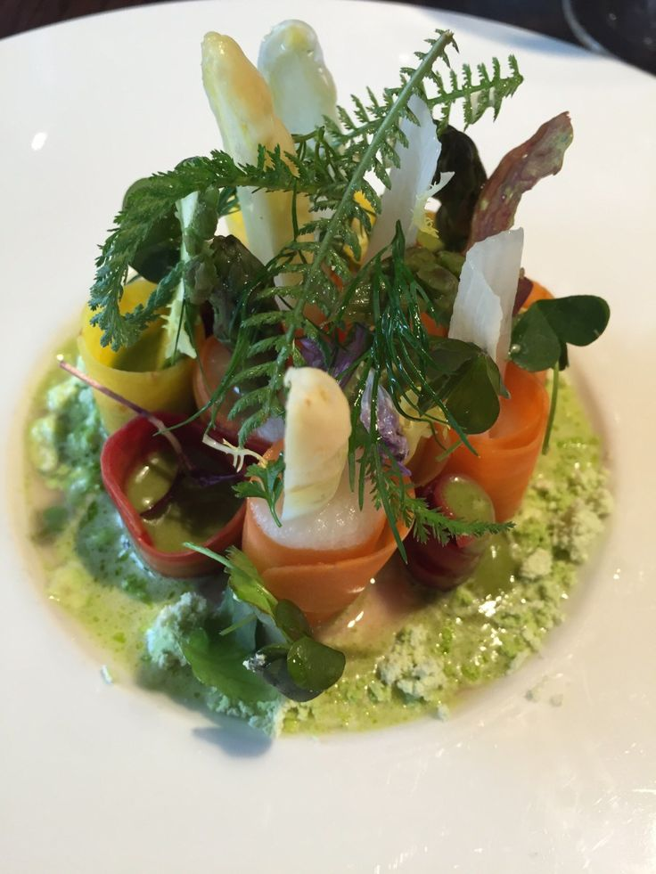 for your wedding dinner. Asparagus & Carrot Salad with Lime & Mint ...