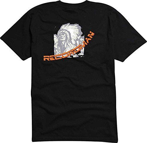 T-Shirt - Camiseta D838 Hombre negro con la impresión en color XL - diseño Tribal cómico / gráfico logo / indiada jefe de tribu con muelles #camiseta #starwars #marvel #gift