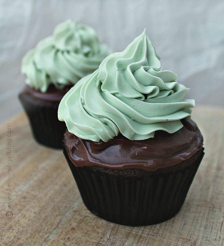 Irish Moss Cupcakes - Guinness cupcake, whiskey chocolate ganache and Amarula buttercream frosting