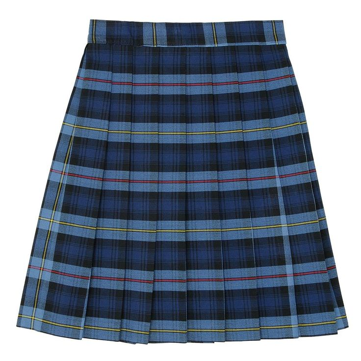 Girls 4-20 & Plus Size French Toast School Uniform Plaid Pleated Skirt, Size: 14 Plus, Blue Other