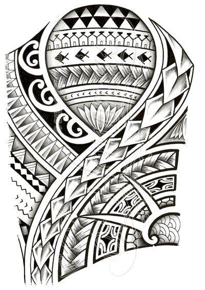 Polynesian tattoo designs at their best
