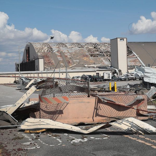 Tyndall Air Force Base To Be Rebuilt As Air Base Of The Future Flood Damage Military Life Air Force