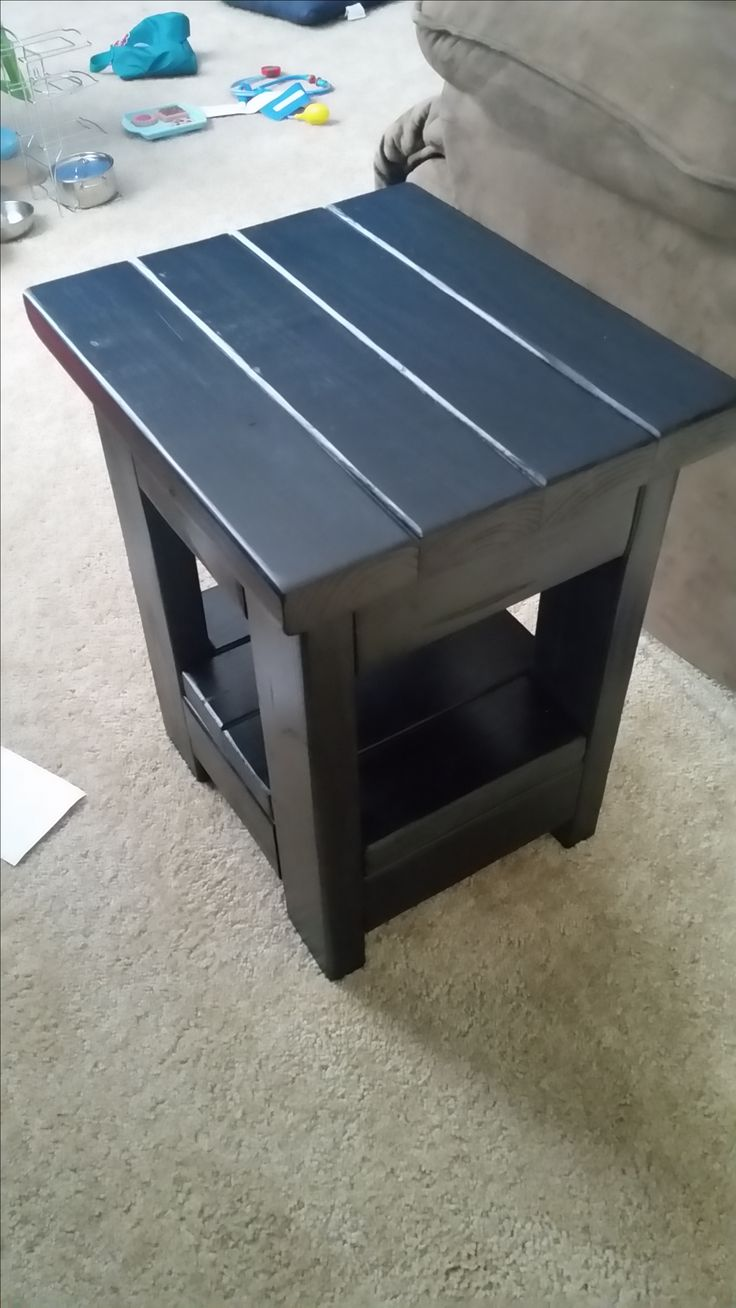 Small End Table from 2X4's | Do It Yourself Home Projects from Ana White
