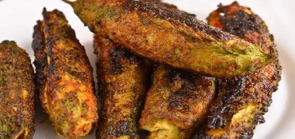 Stuffed Karela With Onion Masala is a popular Indian Side Dish