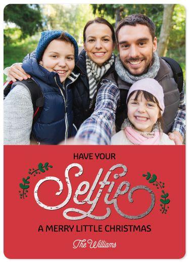 Selfie Christmas by Maria Watkins Designs