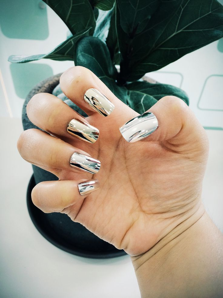 metal nail art mirror tip