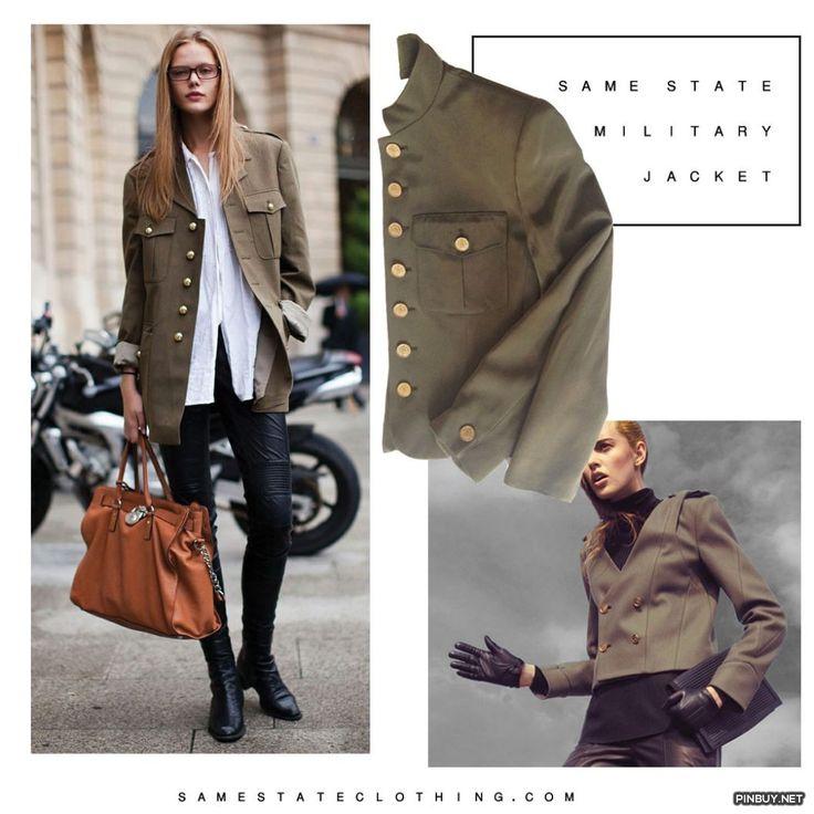 same state vintage military jacket - PinBuy