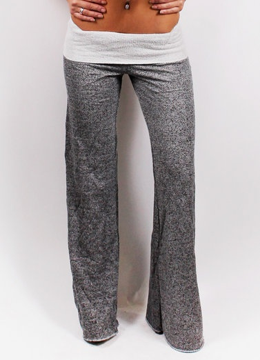 Fold over pants