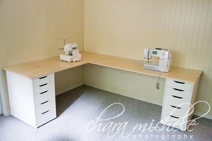 Craft Room Desk: 25+ Best Ideas About Ikea Corner Desk On Pinterest
