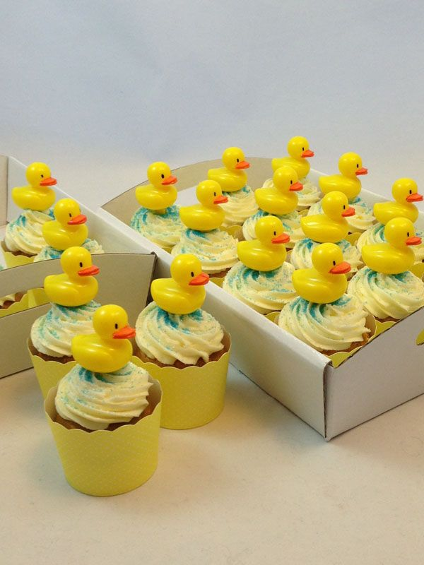 Ducky Cupcake Kit. Click here http://www.icingonthecakekits.com/item_137/Ducky-Cupcake-Kit.htm $39.95