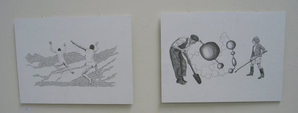 Drawings by Ida Dyhr © 2007. Pencil on paper.
