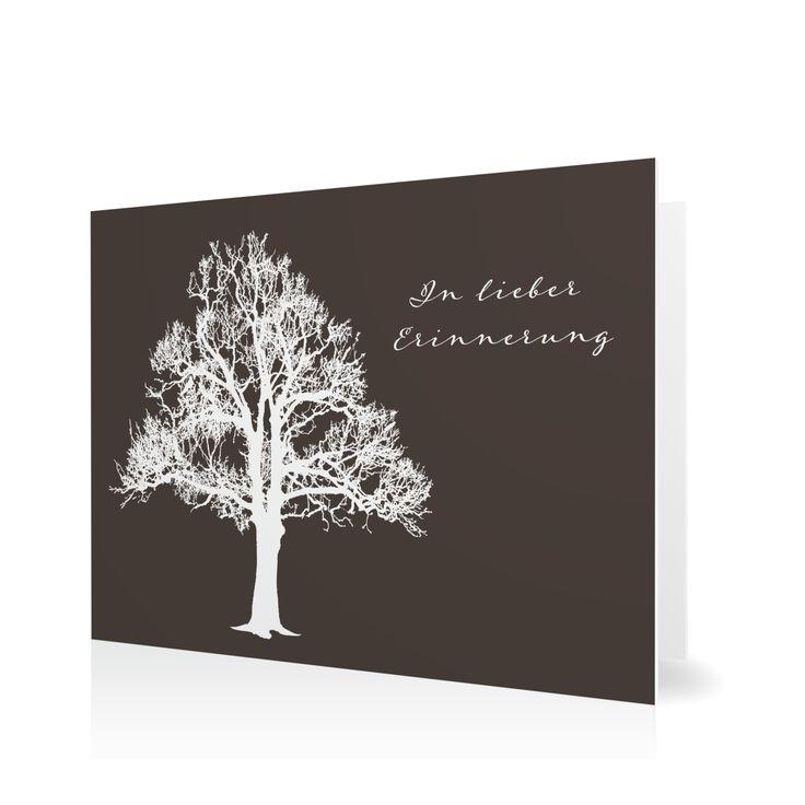 Trauerkarte Lebensbaum in Schamott - Klappkarte flach #Trauer #Trauerkarten #elegant https://www.goldbek.de/trauer/trauerkarten/trauerkarte-lebensbaum?color=schamott&design=002a8&utm_campaign=autoproducts