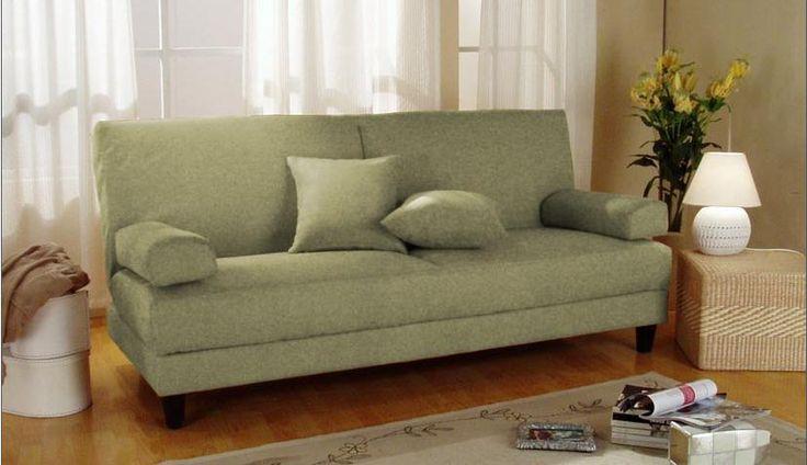 convertible sofa with storage | Blizzard Subtle Mint Convertible Sofa Bed with Storage by Primo ...