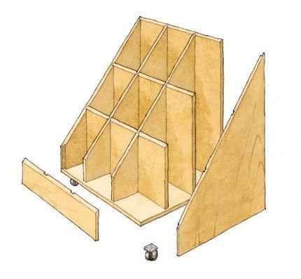 Scrap Wood Storage Bin Plans Woodworking Projects Amp Plans