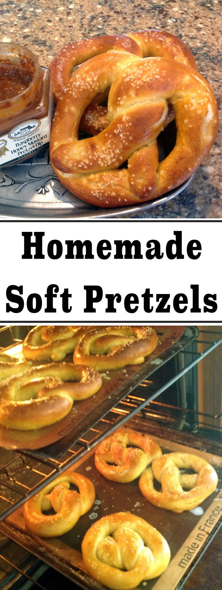 Warm pretzels, fresh from the oven, firm and shiny on the outside, soft and chewy on the inside. Serve them with some mustard and my kids gobble them up after running around outside on a cool, breezy afternoon!