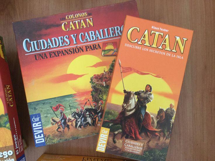 $33.000 - Colonos de Catan Ciudades y Caballeros (Base + 5y6 jugadores)