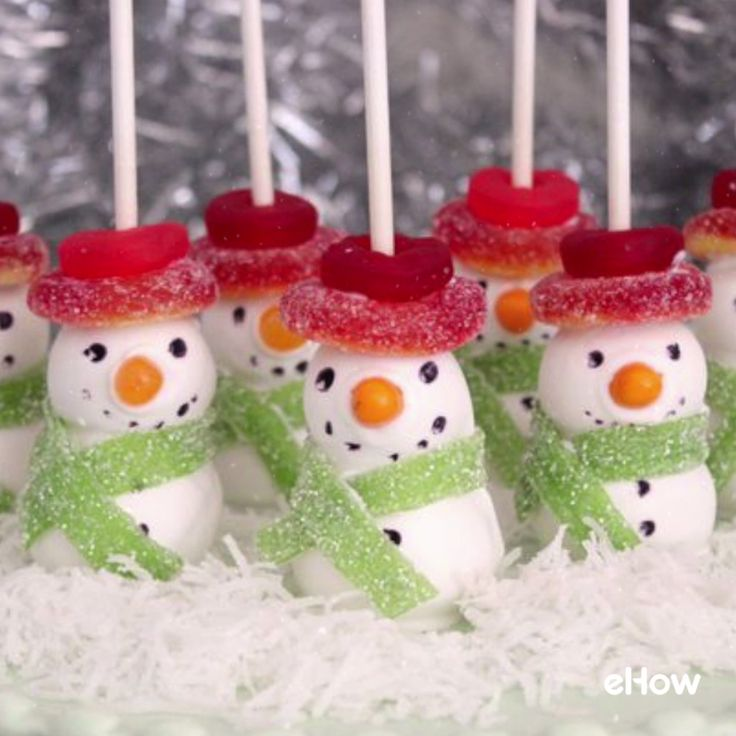 DIY Snowman Cake Pops for Your Holiday Parties