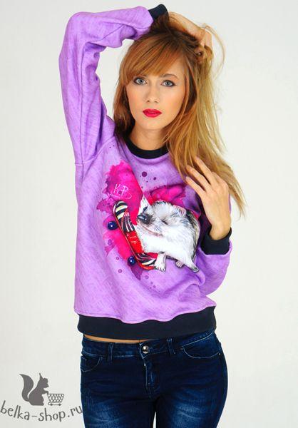 Hedgehog boarder | belka-shop.ru | #design #clothing #fashion #sweatshirt #sweat #coolsweatshirt #fashionweek #katebelchik #belkashop #hog #hedgehog #skate #skateboard #board