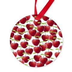 Christmas and cherries go hand in hand!  #Christmas #Xmas #decoration #ornament #cherry
