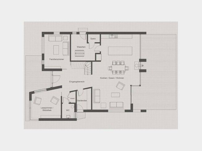 Grundriss eg bauhaus jackson einfamilienhaus von baufritz for Bauhaus einfamilienhaus grundriss