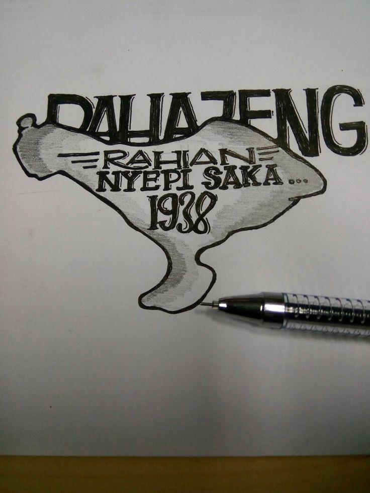 Bali, Indonesia #goodtype #lettering #handlettering #calligraphy #kaligrafi #sketch #design #logo #logotype #calligraffiti #moderncalligraphy #typematters #brushtype #typespire #typographyjakarta #typographybandung #typography #calligraphy