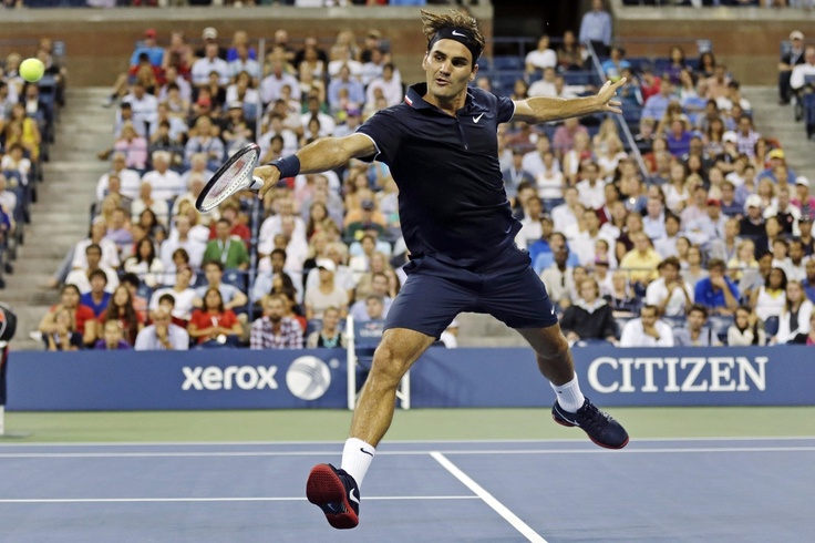 Roger Federer, a loser to Novak Djokovic in the semi-finals at the U.S. Open the last two years, is seeded first for the 23rd time at a Grand Slam, breaking the record he shared with Pete Sampras.