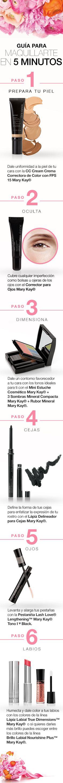 Sigue estos sencillos pasos para obtener un maquillaje fantástico #MomentoExtraordinario #Mary Kay #Stradivarius Colombia