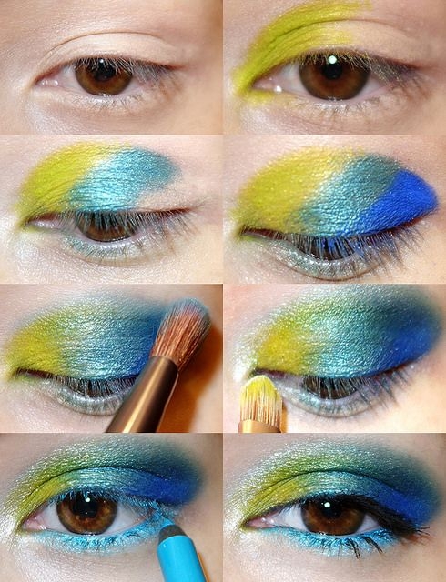 Urban Decay Electric Palette tutorial. If I don't use such a heavy hand with the pigments, I can do a much softer look.