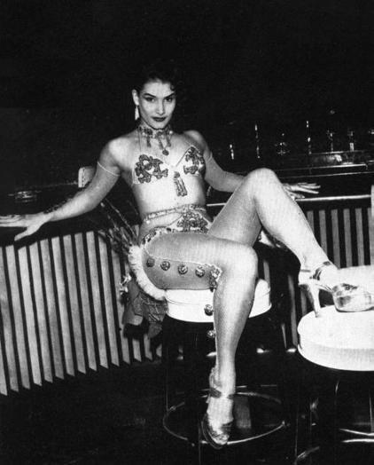 Cuban Stripper  50S Cuba  Cuba, Havana, Tropicana Night -1898