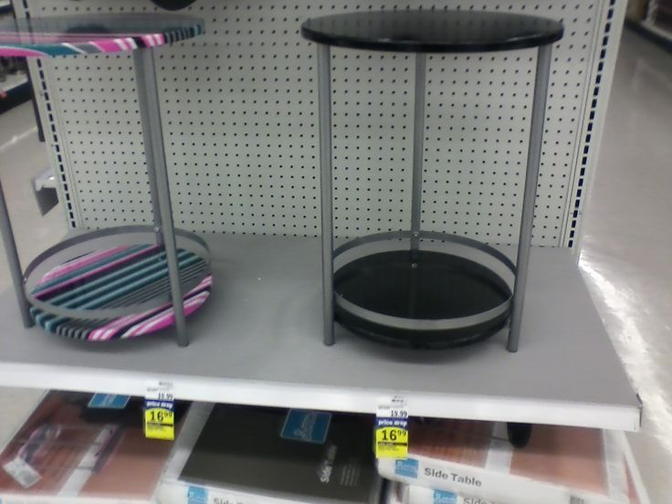 Meijer side table Home appliances, Redecorating, Side table