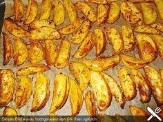 Fettarme Kartoffelspalten aus dem Ofen, ein raffiniertes Rezept aus der Kategorie Kartoffeln. Bewertungen: 174. Durchschnitt: Ø 4,6.