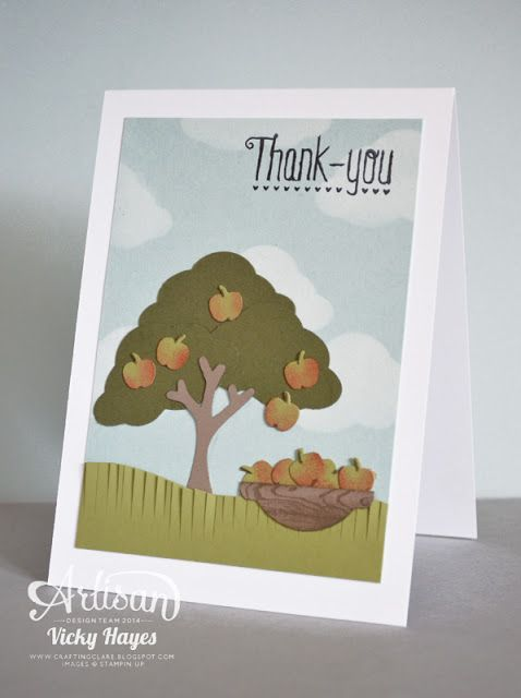 Ideas for the new Tree builder punch - Stampin' Up artisan blog hop
