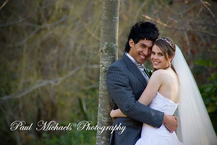 Fun picture at Kaitoke gardens.  Wedding photography in Wellington, New zealand. Pictures by PaulMichaels photographers http://www.paulmichaels.co.nz