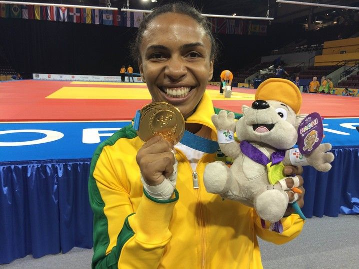 Erika Miranda medalha de ouro Pan