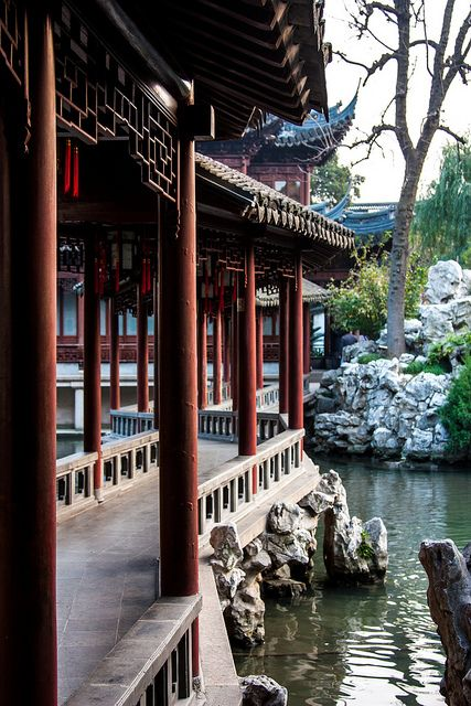 Yuyuan Gardens - Futuristic Shanghai http://www.augustuscollection.com/futuristic-shanghai/