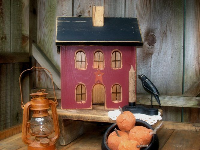 Primitive Wood Houses Country Decor Google Image Result