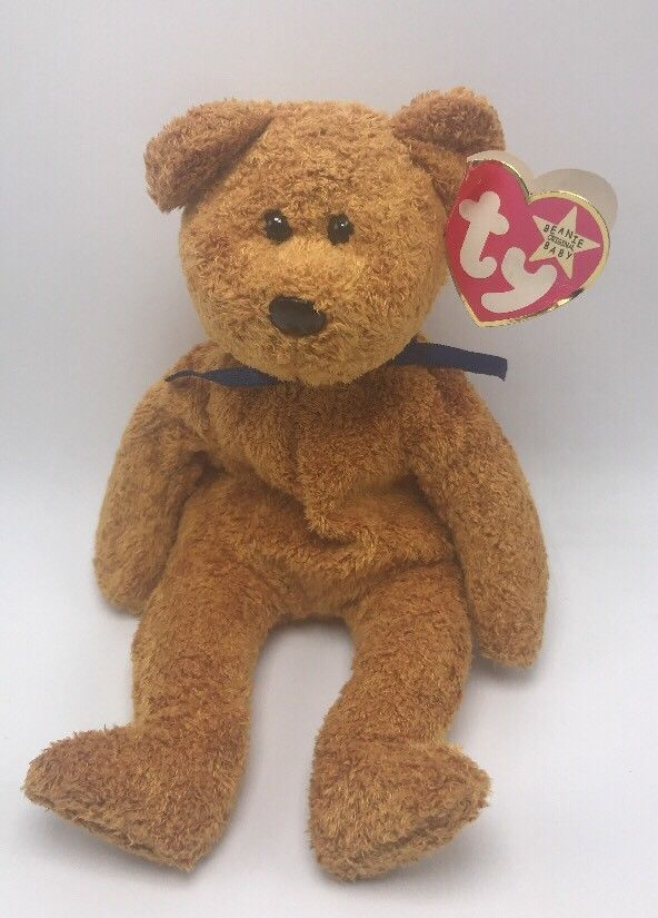Ty Beanie Baby Fuzz The Brown Bear 1998 Date Code Error  2  Ty 7d74ae21025