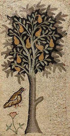 Byzantine Mosaic Panel - 5th century AD
