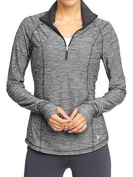 Women's Active by Old Navy Running Tops | Old Navy- Love that is has a thumb hole, now gloves needed.