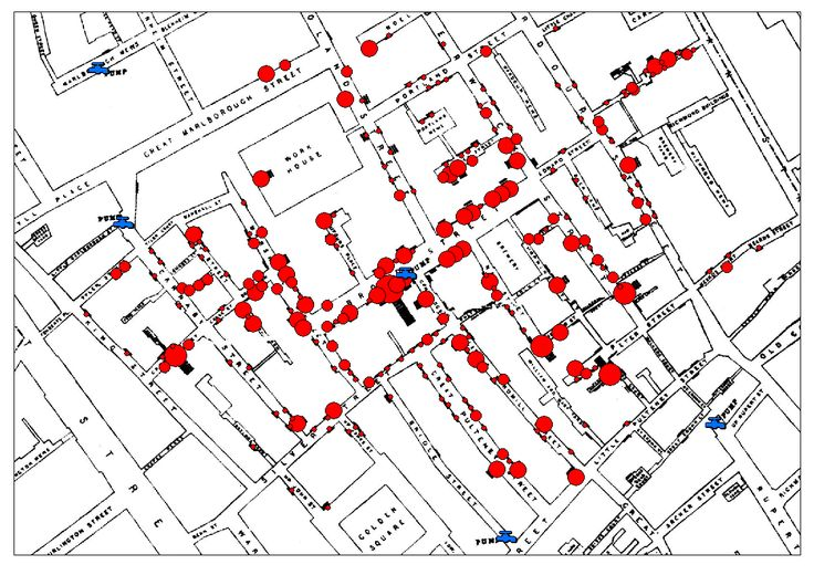 John Snow's Cholera data in more formats