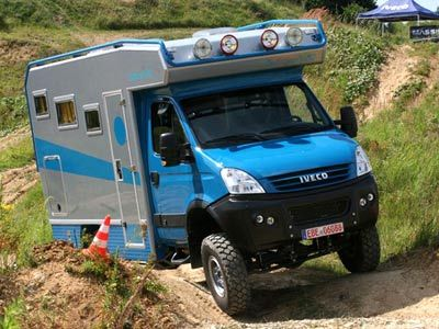 iveco 4 wheel drive camper | Expeditie Safari 4x4 6x6 en 8x8 motorhomes