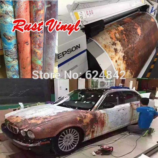 Vehicle Wrap Rust Google Search Car Wrap Ideas