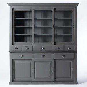 25 best ideas about vaisselier de buffets sur pinterest clapier peint coffre de salle. Black Bedroom Furniture Sets. Home Design Ideas