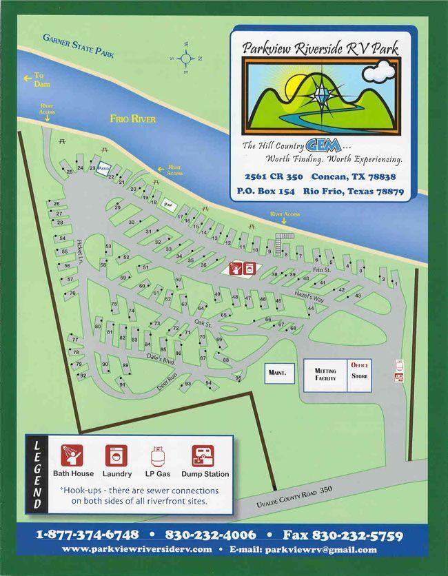 Parkview Riverside RV Park | South Texas RV Park and Camping, Rio Frio