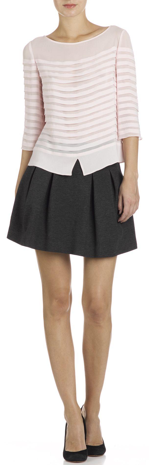 Claudie Pierlot Woman Floral-print Leather -trimmed Suede Sneakers Blush Size 36 Claudie Pierlot iapT9
