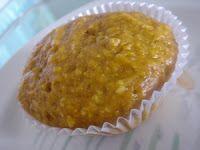 Muffins de abóbora e coco