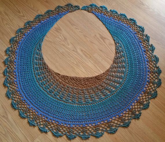 Free Crochet Crescent Shawl Pattern Pakbit For
