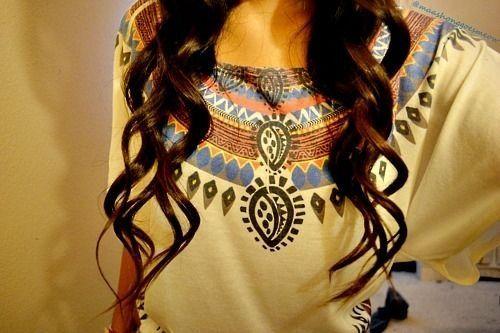 Hair and Top super cute