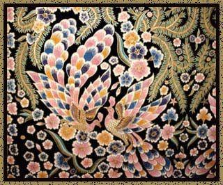 Batik Bali - Merak Byorhokokai