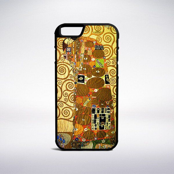 Gustav Klimt - The Frieze Of The Villa Stoclet In Brussels Phone Case – Muse…